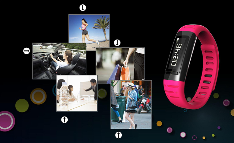High quality OEM Color Smart band