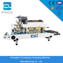 Continuous plastic film bag sealing machine / band sealer with stable performance