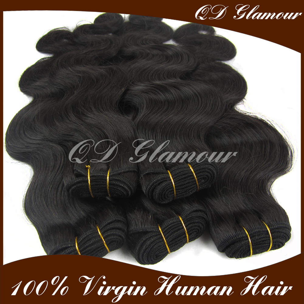 Human indian remy hair products natural color hair extensions 100 virgin indian hair