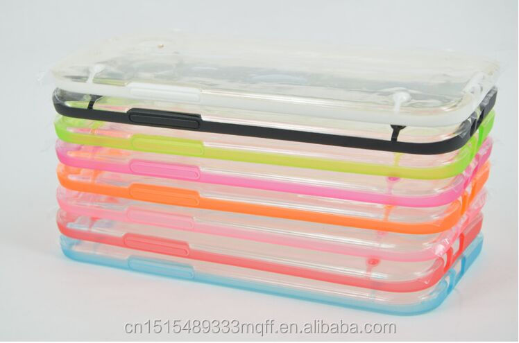 Transparent Clear Soft Gel Skin Hard Case Cover For HTC ONE M7 M8 Case
