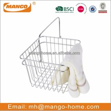 Chrome Plating Metal Wire Laundry Basket