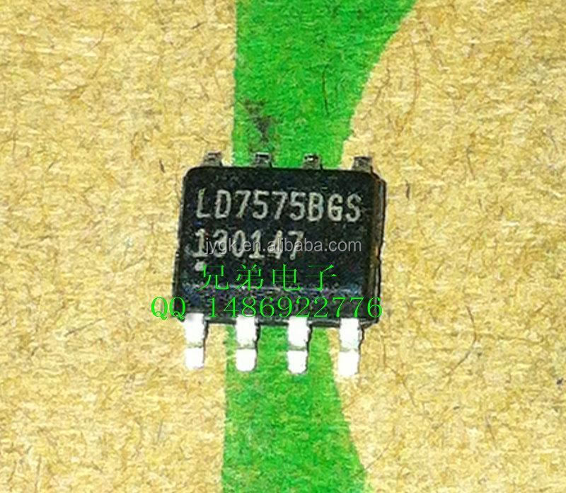 LD7575BGS SMD 8 pin old type LCD power management IC chips shipped--XDDZ