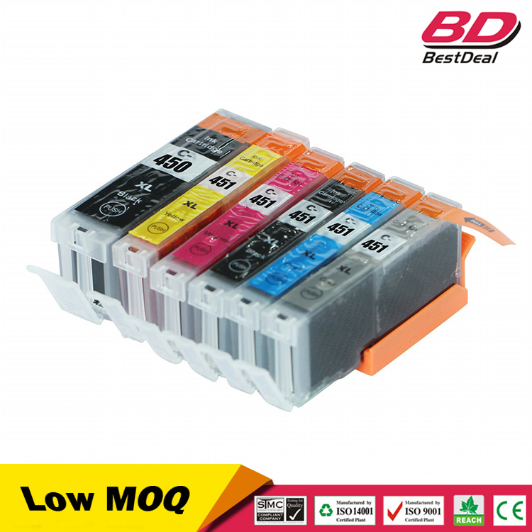 pgi-450xl cli-45xl 450/451 ink cartridge for canon PIXMA MG5440
