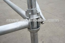 steel tube clamps EN12811 cuplock scaffolding system with frame scaffolding