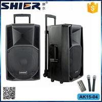 Large Water Dancing Buetooth Wireless Trolley Speaker with FM