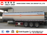 2015 New fuel tanker prices, 50000 liters oil/gasline fuel tanker semi trailer for sale