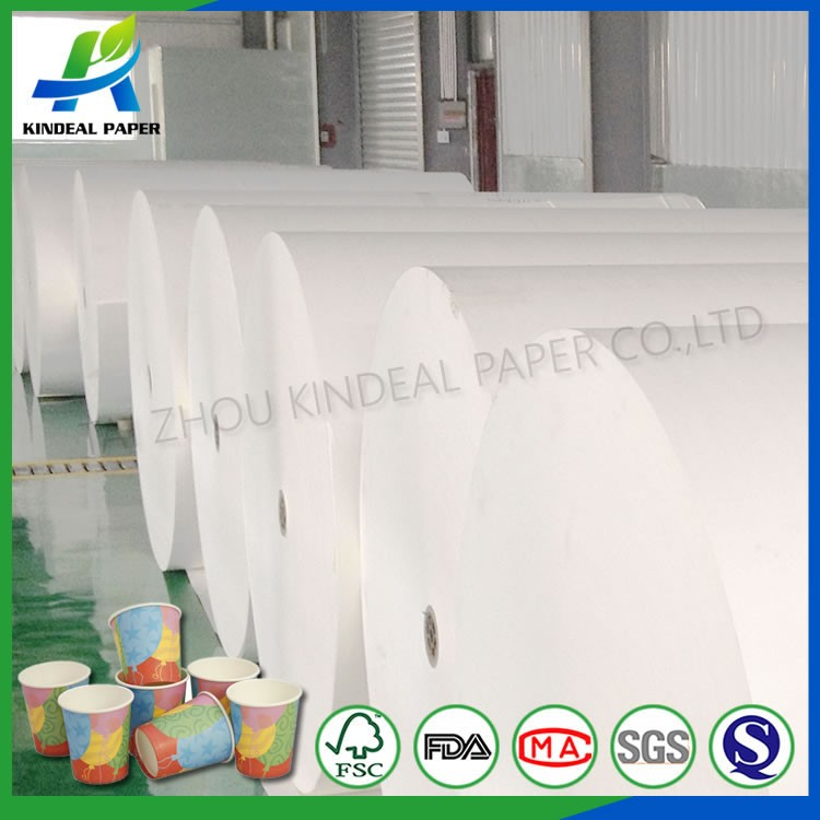 wholesale rolling pe coated papers of customed printed