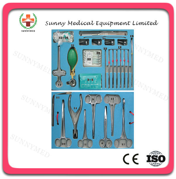 SA0040 Hospital medical minor surgery Instrument set for sale