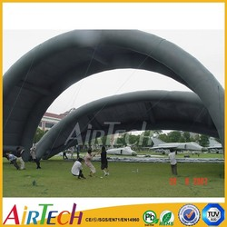 Popular Inflatable Giant aircraft tent ,waterproof inflatable army tent of high quality