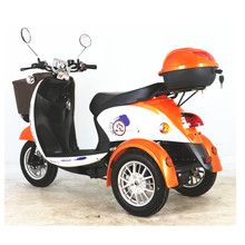 3 wheels electric tricycle rickshaw electric for older disable