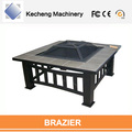 Factory And Manufactuer Best Price Rectangle Steel Fire Pan