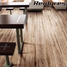 Inner nonskid bronze porcelain tile wood for commercial center