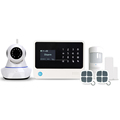 gsm alarm system support 100 wireless zones 8 wired zones security system