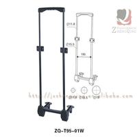 Good Quality Luggage Parts Detachable Bag Trolley Handles
