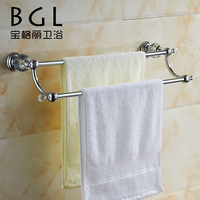 11325 wall mounted new design bathroom accessories zinc chrome towel rack