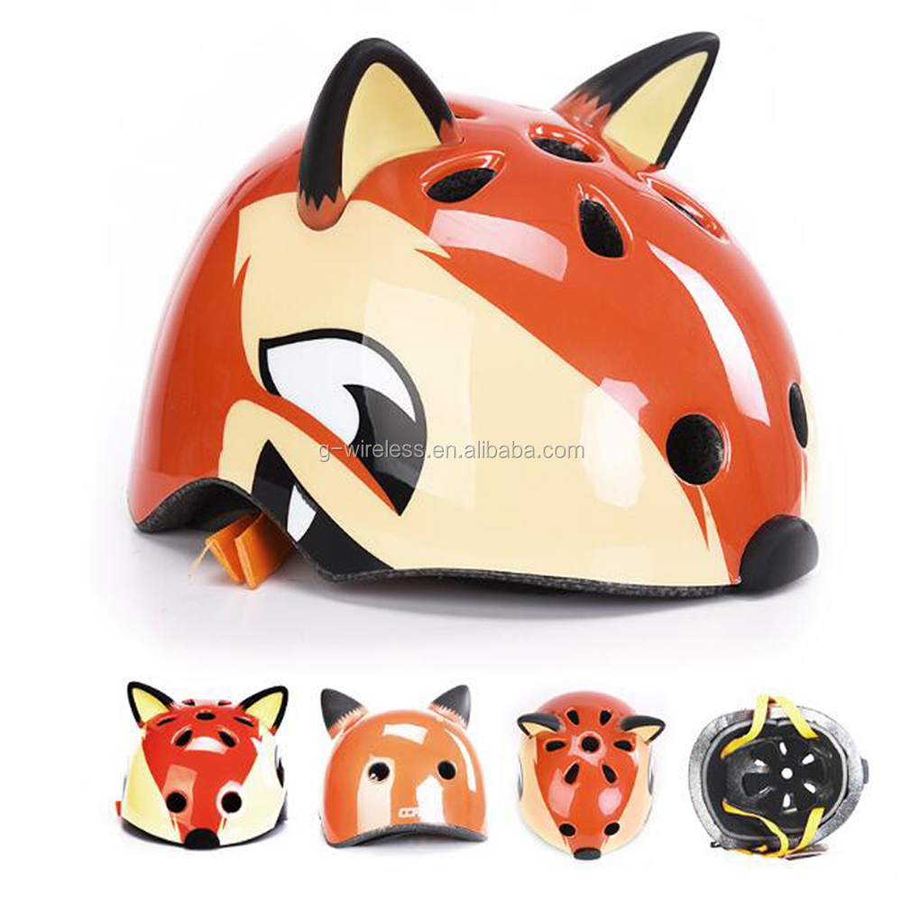 High Quality S-216 Fox Cute Safety Helmet for Bicycle