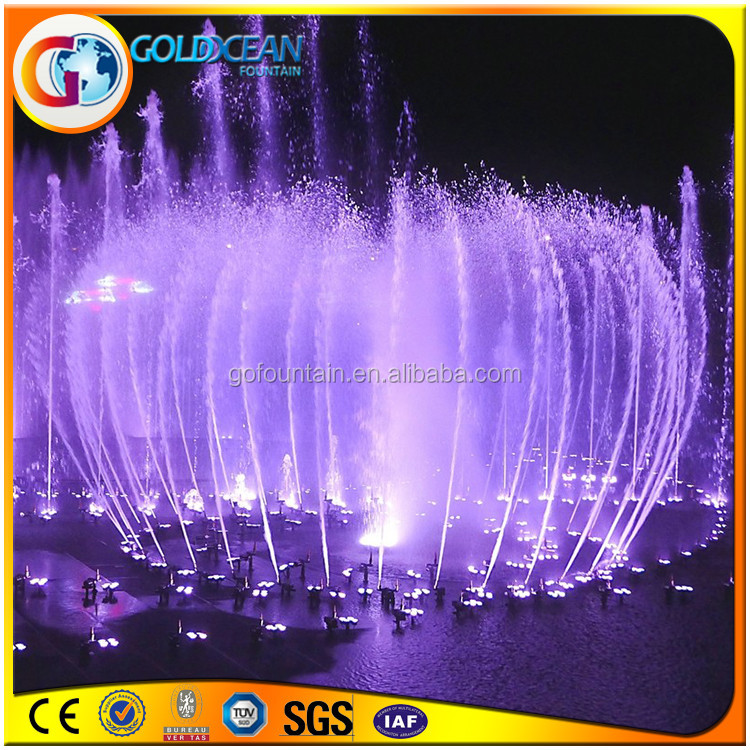 Music Dancing Water Fountain Project Digital Fountain Nozzle