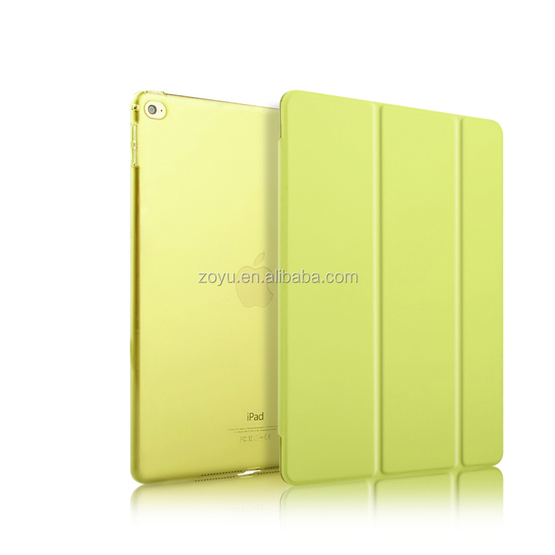 Factory Price! Tablet Bumper Sleeve Smart Cover For iPad Air 2