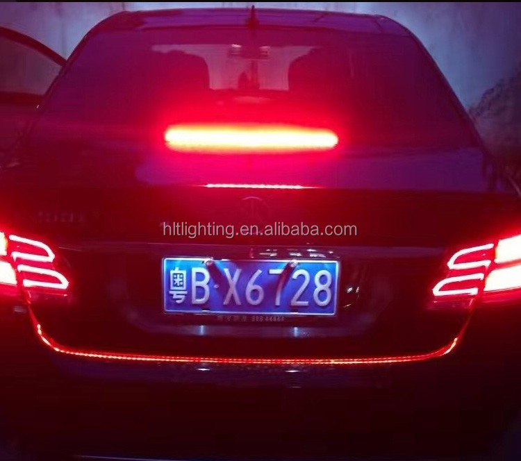 Super Bright Ice Blue and Red SMD LED Soft Strip Light Car Trunk Cargo Area Illumination