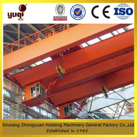 drawing customized factory supply box girder overhead crane applied in boiler factory used indoor