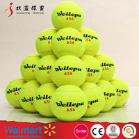 standard ITF tennis ball for training,cheap personalized tennis balls with yellow wool
