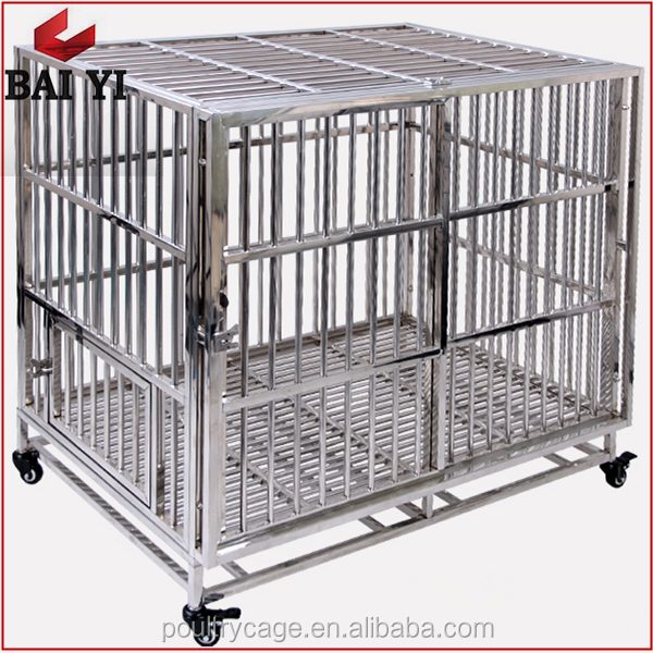 Eco-friendly Aluminum Folding Stainless Steel Dog Car Cages