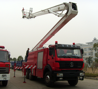 18m Aerial Ladder Fire Truck