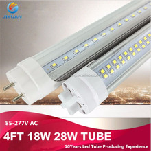 36w 8Ft T8 Fluorescent Replacement Tube Light with Bracket 110V
