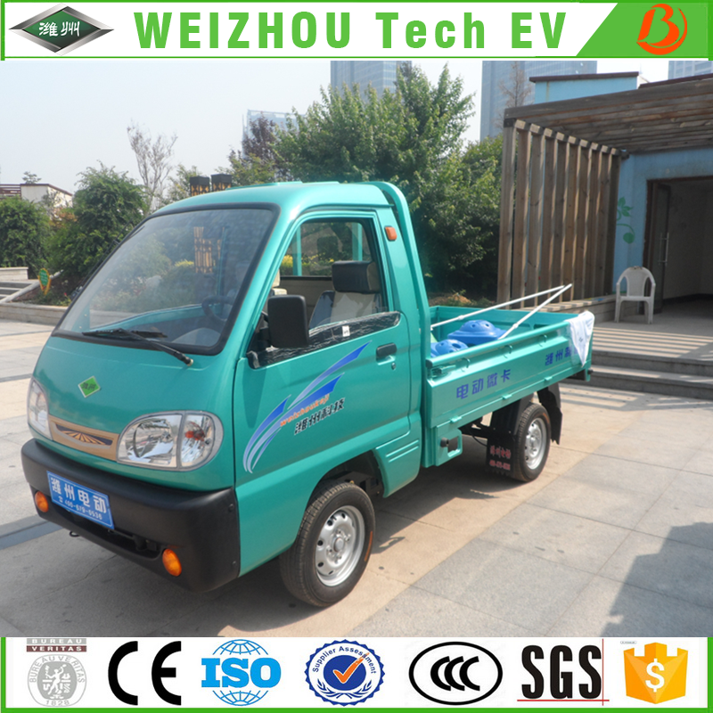 High Quantity Discount Automobile Electric Pickup Car 800kg 4 wheel Electric Cargo Truck Made in China
