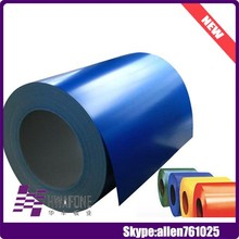 Color Coated Steel Coil / Embossed Ppgi