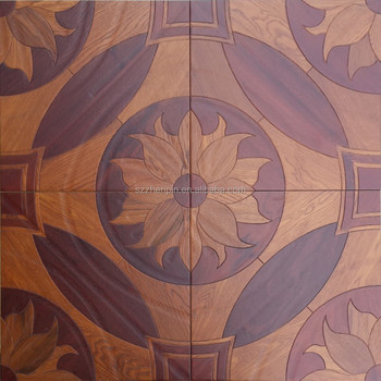 Art parquet Engineered wood flooring classic chinese design