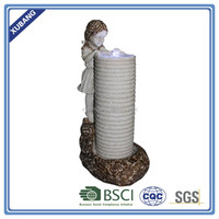 Big garden figurine outdoor water fountain natural stone water fountain