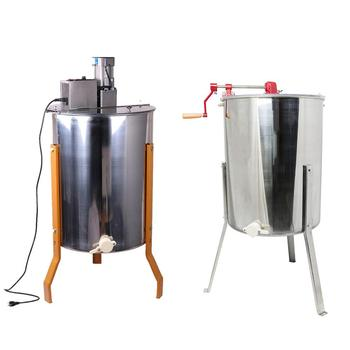 2019 Factory directly supply 2 4 6 8 12 20 24 frame automatic radial motor used manual electric honey extractor