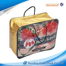 wholesale Mexico style transparent pvc bag for blanket