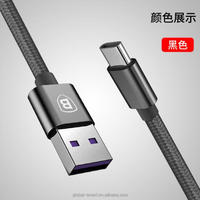 General Type C device 2.0/3.0 Fast speed Nylon braided 2M 3M 1M Data Charger USB C cable For Macbook Nokia LG Letv Smartphone