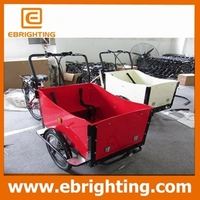 Brand new best tipping 300cc five wheeler tricycle cargo bike with great price