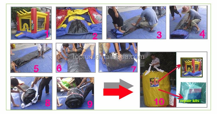 outdoor amusement inflatable bungee run sport games