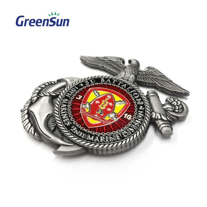 high quality 3d die cast medal