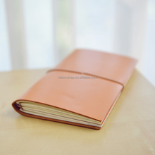 11*16*2cm handmade small leather composition leather notebook cover