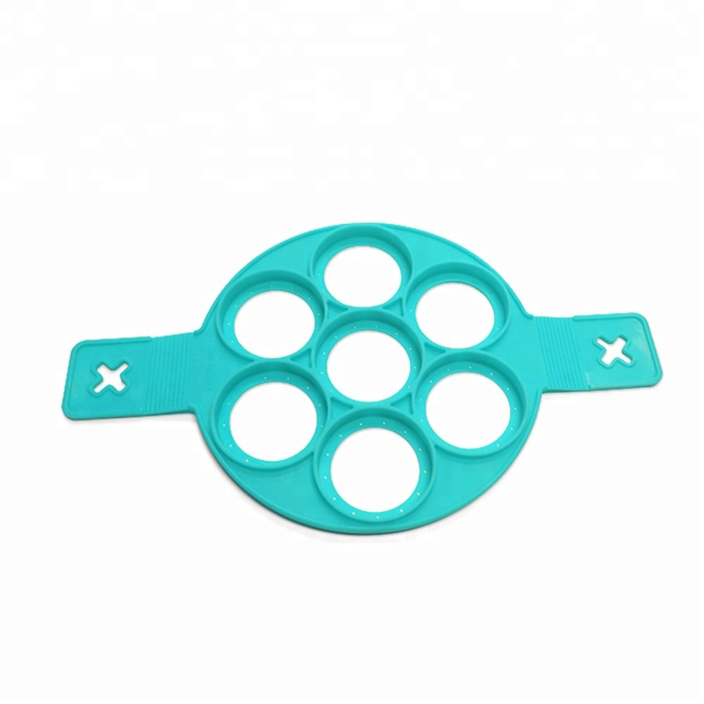 Reusable Egg Mold Silicone Pancake Maker Kitchen Tools