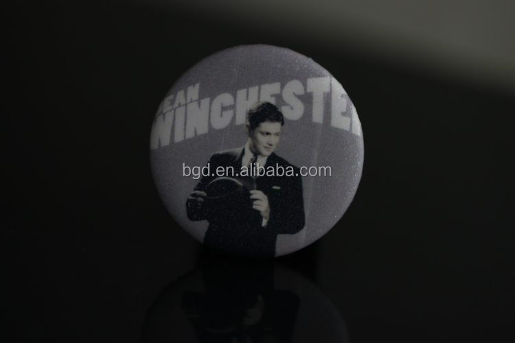 Vograce Custom round tin button badge 44mm