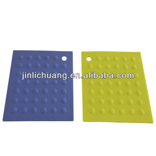High quality heat resistant silicone sink mat for kitchen use