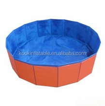 Hot seller durable plastic dog pool for pet swimming