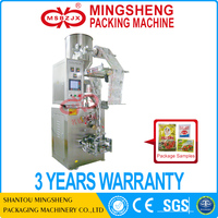 JX023 Fully automatic four-side seal pillow bag packaging machine food wrapping machine