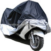 custom plastic rain protection two and three wheel motorcycle cover
