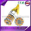 Universal used high bright led t10 38smd 3014 car light auto bulb for Audi BMW VW Toyota