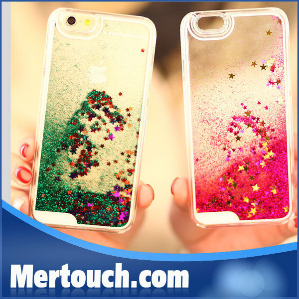for <strong>iphone</strong> 6 plus case Liquid hot sale lovely electroplate mobile phone case