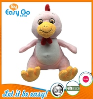 Customized Sedex Icti fancy stuffed chicken toys