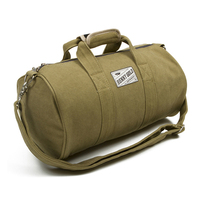 2015 best selling canvas sports bag