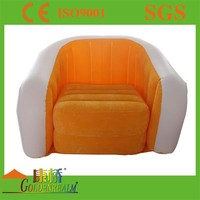 High quality portable inflatable pvc sofa and chairs for promotion